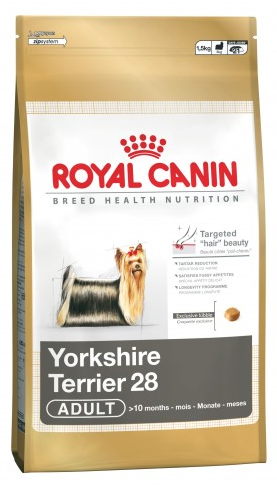 RC: Yorkshire Terrier Adult  - 0.5 kg Royal Canin: Yorkshire Terrier 28 Adult - 500+500g